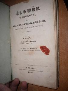 Frost - Člowěk w podobenstwí čili zrcadlo - 1846
