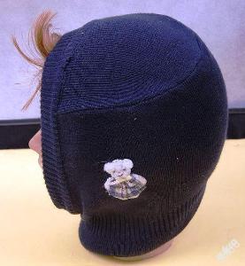 Dětská čepice , kukla - (Č 084 )
