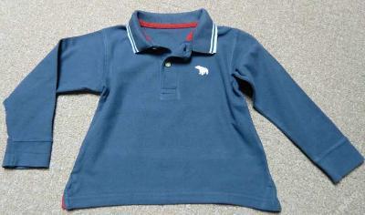 Pěkné tričko s límečkem vel. 98