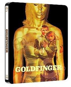 JAMES BOND 007: Goldfinger Steelbook Limitovaná s