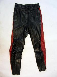 Kožené kalhoty HARRO vel.? - obvod pasu: 68 cm