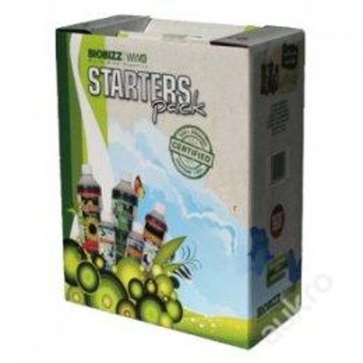 Hnojivo BioBizz Starters Pack 100% BIO - Zahrada