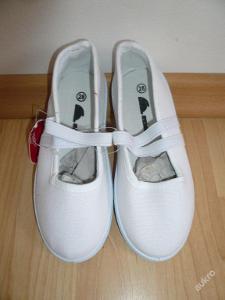 Plátěná obuv bačkory, tenisky, plátěnky 24.