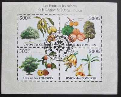 Komory 2009 Tropické ovoce Mi# 2661-64