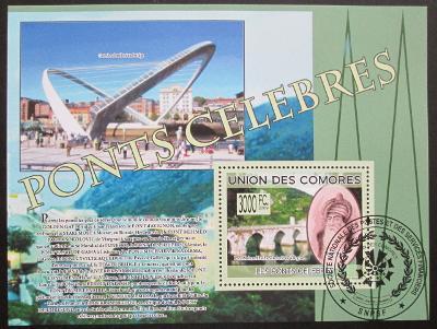 Komory 2009 Mosty Mi# Bl 489 15€ 0513