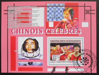Komory 2009 Slavní Číňani Mi# Bl 491 15€ 0513