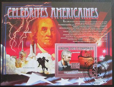 Komory 2009 Slavní Američani Mi# Block 505 Kat 15€ 1798