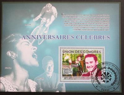 Komory 2009 Slavní herci Mi# Bl 501 15€ 0518