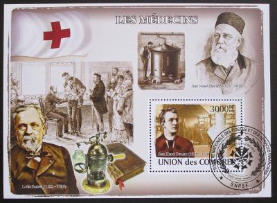 Komory 2009 Lékaři Mi# Bl 455 Kat 15€ SLEVA