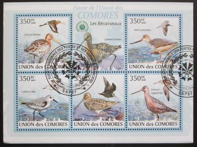 Komory 2009 Ptáci Mi# 2367-71 SLEVA