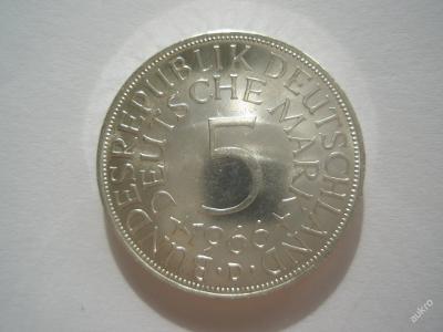 NSR 5 marka 1966 D ražební lesk