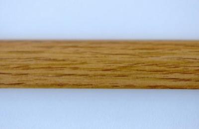 Lišta rohová 210 cm, dekor dub (12323)