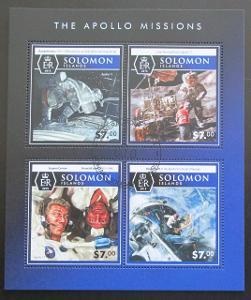 Šalamounovy o. 2015 Mise Apollo Mi# 3466-69