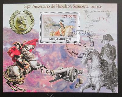 Mozambik 2009 Napoleon Mi# Bl 281 10€ SLEVA
