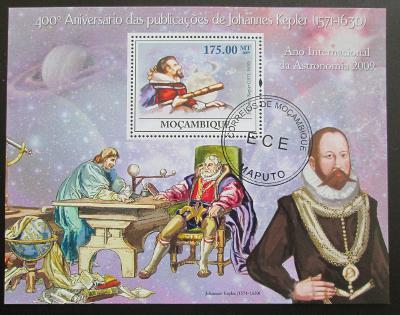 Mozambik 2009 Johannes Kepler Mi# Bl 276 10€ 1308