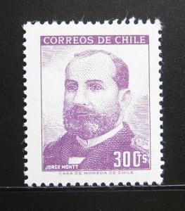Chile 1966 Prezident Jorge Montt Mi# 653 0171