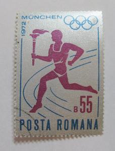 Rumunsko 1972 LOH Mnichov Mi# 3043 0219
