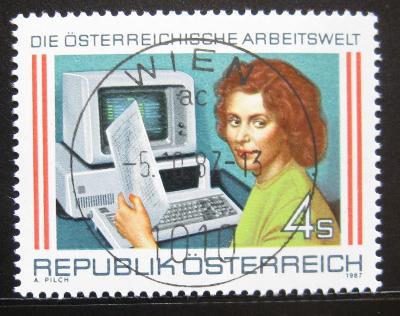 Rakousko 1987 Úřednice Mi# 1902 0750