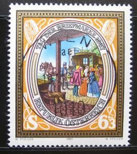 Rakousko 1987 Den známek Mi# 1907 Kat 2.50€ 0751