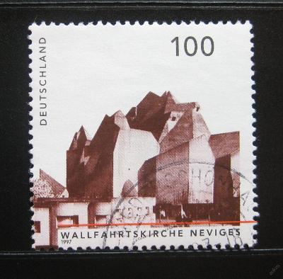 Německo 1997 Kostel v Neviges Mi# 1908 0556