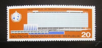 DDR 1966 Ústředí WHO Mi# 1178 0010