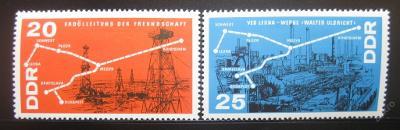 DDR 1966 Chemický průmysl Mi# 1227-28 0010