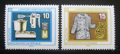 DDR 1967 Lipský veletrh Mi# 1306-07 0011