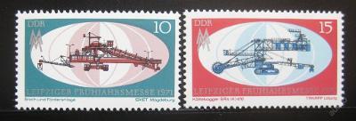 DDR 1971 Lipský veletrh Mi# 1653-54 0016