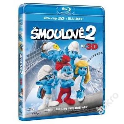 Blu Ray Šmoulové 2 3D+2D