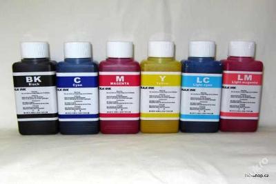 Sublimační inkoust 6x100ml BK, C, M, Y, LC, LM