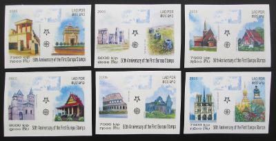 Laos 2005 Evropa CEPT Mi# 1973-78 B Kat 25€ 0458