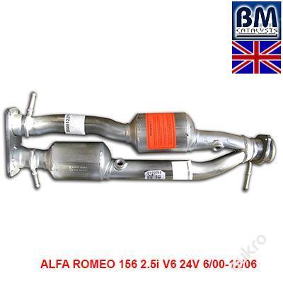 KATALYZÁTOR ALFA ROMEO 156 2.5i V6 24V 6/00-12/06