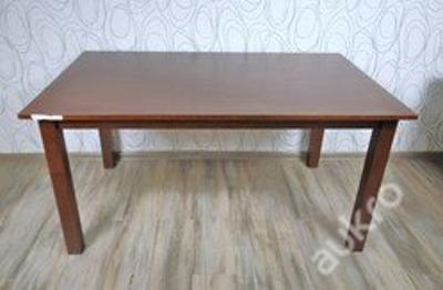 Jídelní stůl rozkládací, dřevo masiv (11746A) E