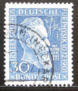 Německo 1951 W. K. Roentgen Mi# 147 Kat 20€ 0372