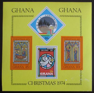 Ghana 1974 Vánoce Mi# Block 59 0555