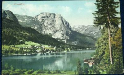 Rakousko - Grundlsee  1910