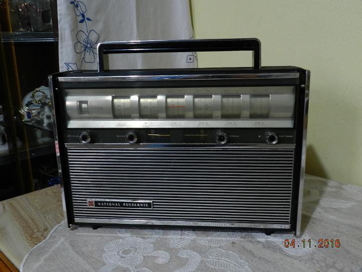 Staré Rádio National Panasonic Model R-3000 1965 - Starožitnosti