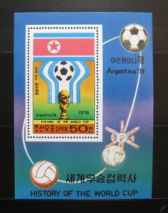 KLDR 1981 MS ve fotbale Mi# Block 49 Kat 26€ 1162
