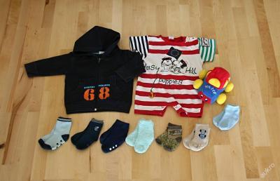 chlapecký set vel. 68 - 74