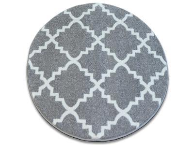 KOBEREC SKETCH 140 cm kruh TRELLIS šedá #GR2461