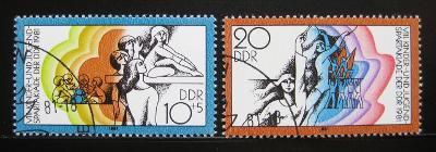 NDR 1981 Spartakiáda mládeže Mi# 2617-18 0410