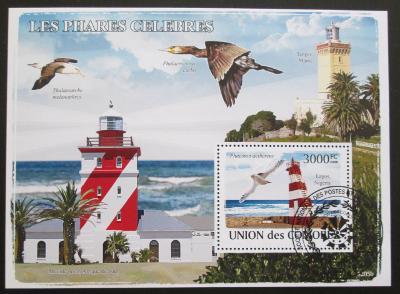 Komory 2009 Majáky a ptáci Mi# Bl 451 15€ 1316