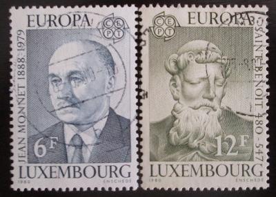 Lucembursko 1980 Evropa CEPT Mi# 1009-10 0802