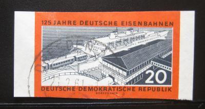 DDR 1960 Železnice Mi# 805B Kat 6€ 0976
