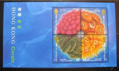Hong Kong 1994 Korály Mi# Block 33 0926