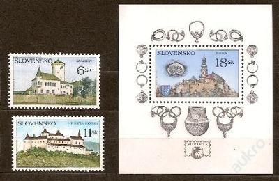 Slovensko 1998 kat.č.Mi306+307+308 H