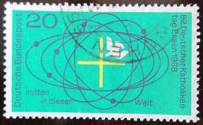 Německo 1968 Den německých katolíků Mi# 568 0336