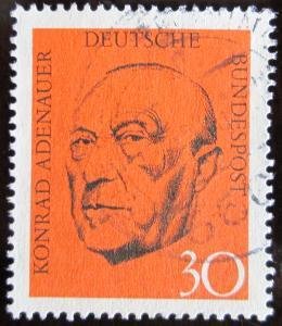 Německo 1968 Konrad Adenauer Mi# 567 0336