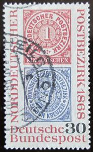 Německo 1968 Severoněmecká konf. Mi# 569 0336
