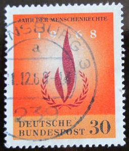 Německo 1968 Lidská práva Mi# 575 0336
